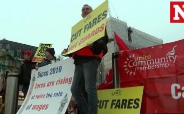 #RailFail trends on Twitter after average rail fare price hike