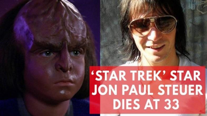 Star Trek child actor Jon Paul Steuer dead at 33