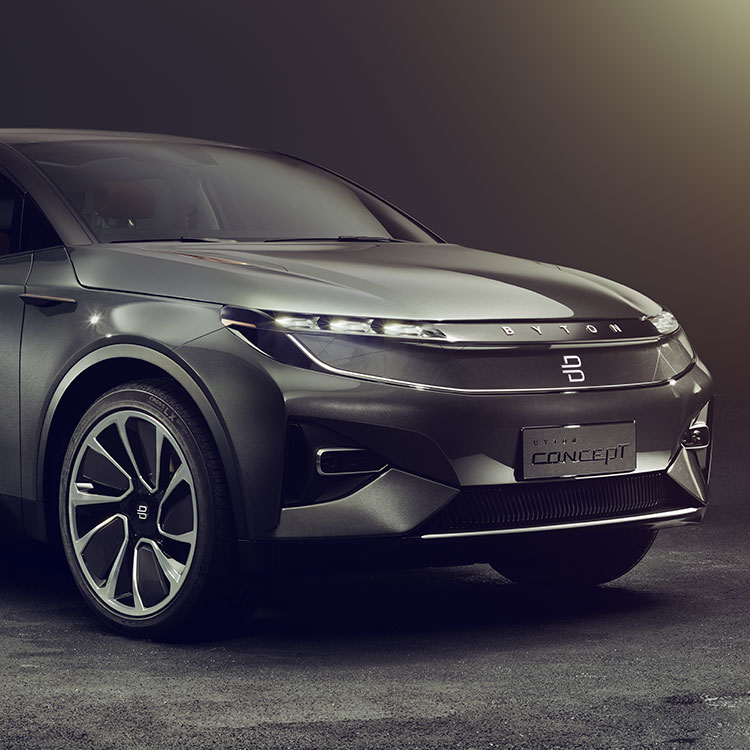 """Cars For Sale Las Vegas >> CES 2018: Byton electric SUV concept with 50"""" touchscreen ..."""
