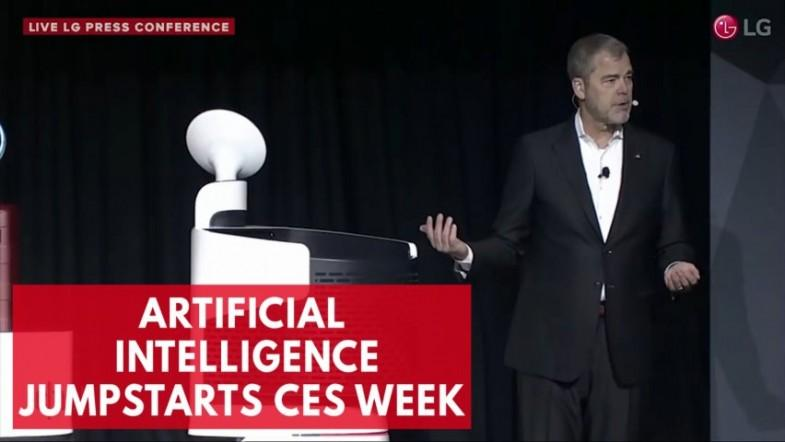 At CES, LG introduces new smart home products with artificial intelligence