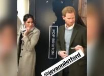 DJ gives business card to Prince Harry, asks to play at wedding