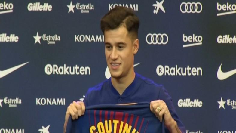 Coutinho says it was an easy decision and his dream to join Barcelona