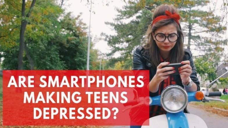 Are smartphones making teenagers depressed?