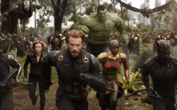Chris Evans, Captain America, Avengers Infinity War