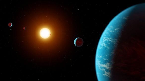 exoplanet, K2-138,