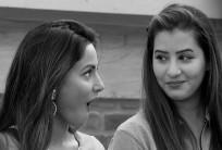 Hina Khan, Shilpa Shinde in Bigg Boss 11 house