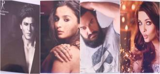 Shah Rukh Khan, Alia Bhatt, Aamir Khan, Aishwarya Rai Bachchan on Dabboo Ratnani Calendar 2018