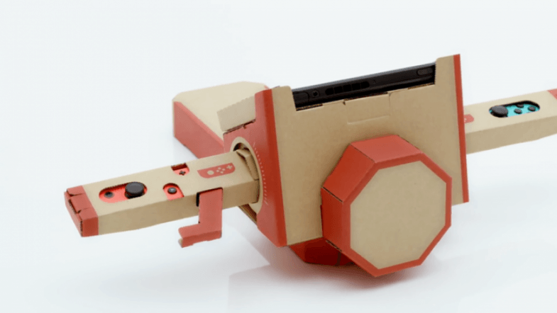 Nintendo Labo: Build your own cardboard toys with Nintendos new idea for Switch