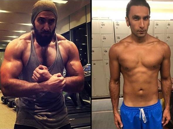 Ranveer Singh's body transformation from Padmaavat to ...