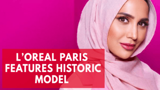 Hijab-wearing model fronts LOreal Paris hair campaign