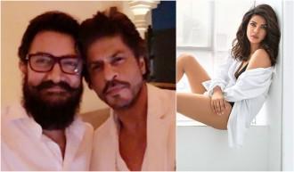 Aamir Khan, Shah Rukh Khan, Priyanka Chopra
