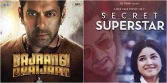 Bajrangi Bhaijaan, Secret Superstar