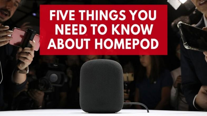 Apples new home assistant Apple HomePod