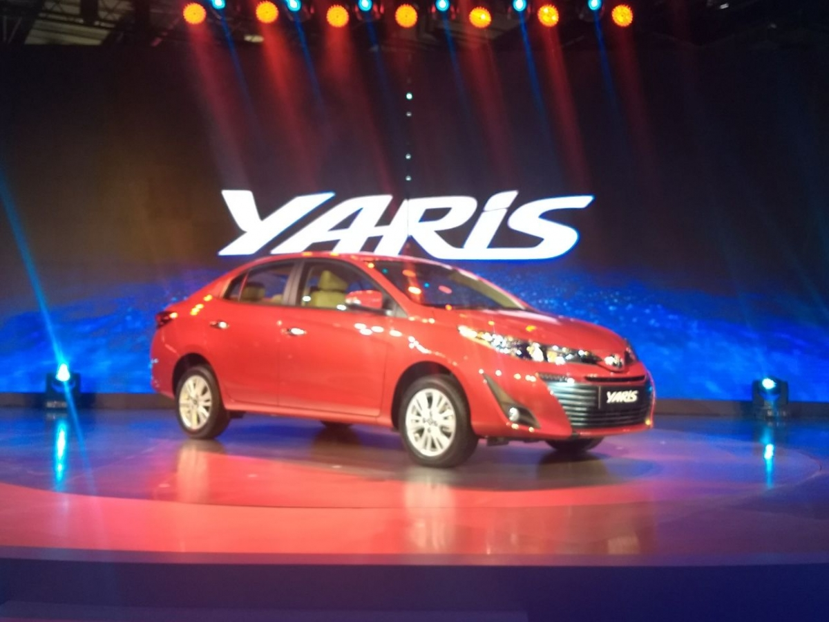 Auto Expo 2018 Toyota Yaris makes India debut take note