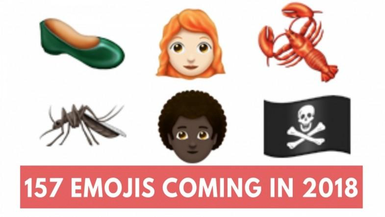 The 2018 emojis list is released and it includes redheads, lobsters and bagels
