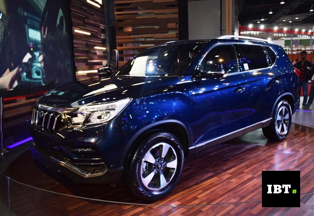 Auto Expo 2018 Will The New Mahindra 7 Seat Flagship Suv