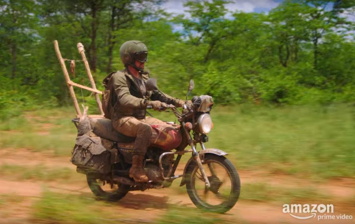 this tvs bike stars in the grand tour season 2 episode 11 and richard hammond rides it. Black Bedroom Furniture Sets. Home Design Ideas
