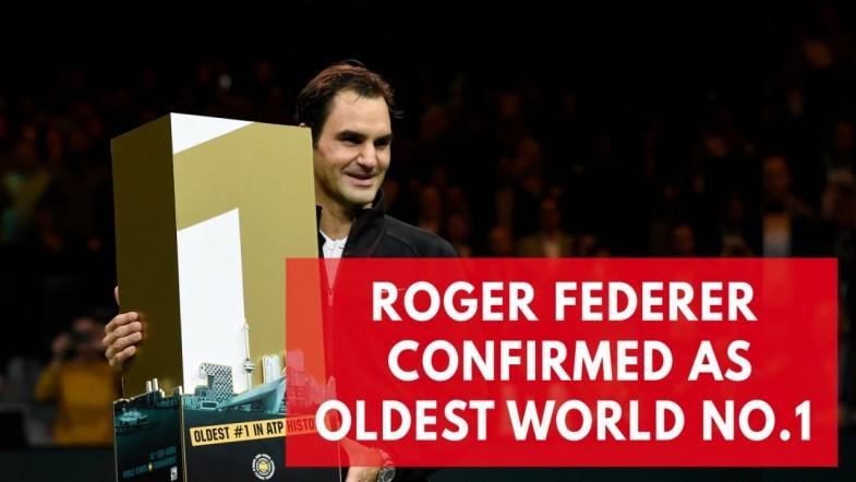 Roger Federer becomes oldest world no.1 in history