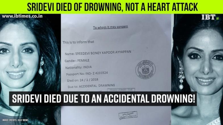 Sridevi's Accidental Death