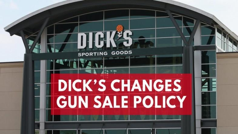 ​Dicks Sporting Goods announces gun sale policy changes after Parkland Shooting