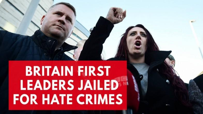 Britain first leaders who President Trump retweeted jailed for hate crimes