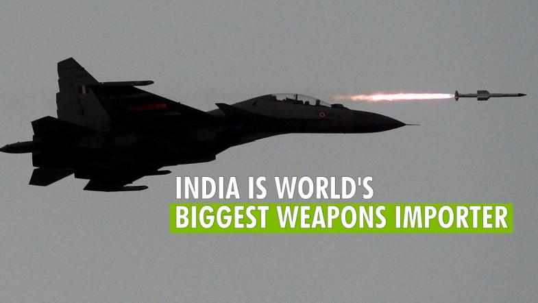 India is the largest arms importer in the world: Report