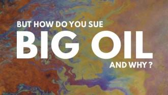How to sue Big Oil