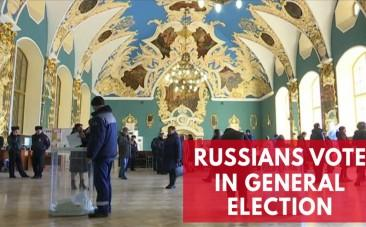Russians go to the polls to vote in the general election