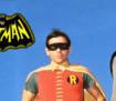 Adam West and Burt Ward as Batman and Robin from 1960s TV series