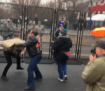first-fight-erupts-between-bikers-for-trump-and-disrupt-j20-groups-at-inauguration