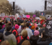Womens marches around the world with millions protesting against Donald Trump