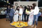 Celebs like Jacqueline Fernandes, Amruta Fadnavis, Yes Bank's Radha Kapoor lit the lamp and launched JOYA - a fashion and lifestyle exhibition.