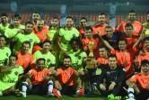 Virat Kohli's All Heart thrash All Stars led by Bollywood actor Ranbir Kapoor in a charity football match, Celebrity Clasico at the Mumbai.