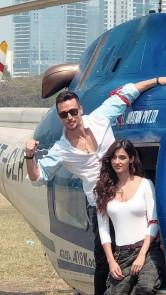 Tiger Shroff and Disha Patani made perfect Baaghi appearance for their trailer launch today.