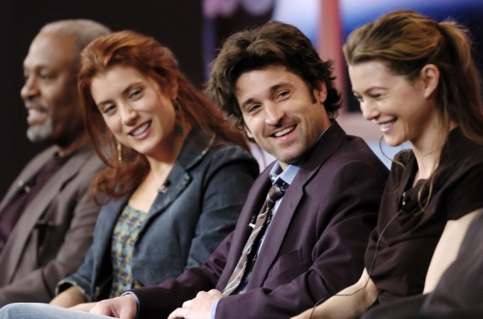 Cast members in the ABC show
