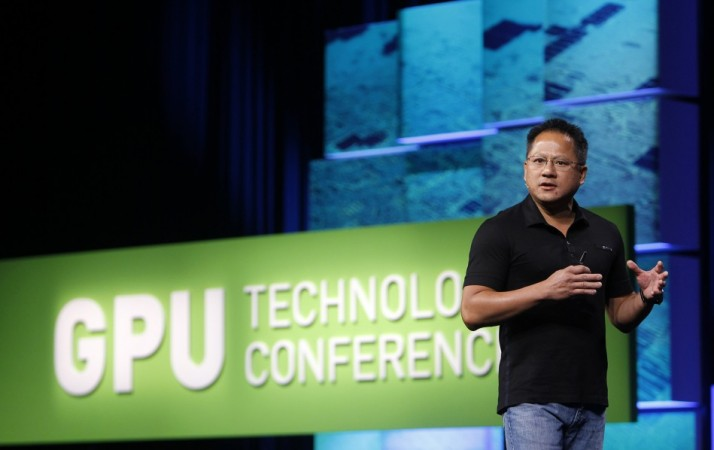 NVIDIA President and CEO Jen-Hsun Huang delivers keynote address in San Jose