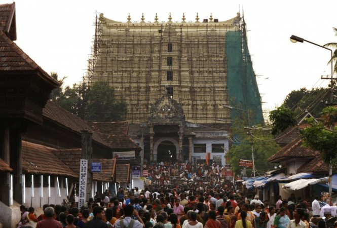 3. Sree Padmanabhaswamy Temple, Kerala, India
