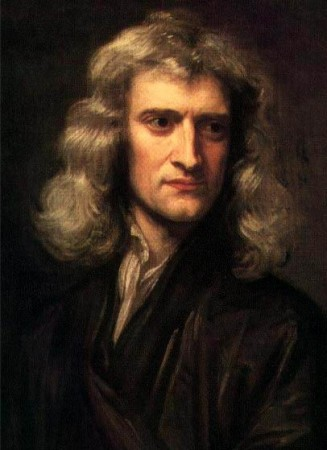 Isaac Newton (1643-1727) physicist