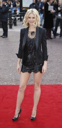 "Gwyneth Paltrow arrives for premiere of ""Iron Man"" in London"