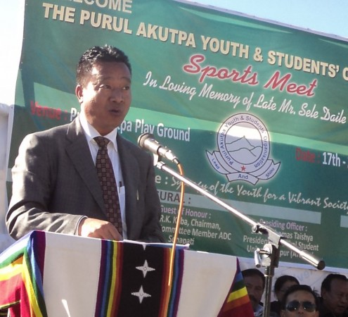 Education Minister D D Thaisii