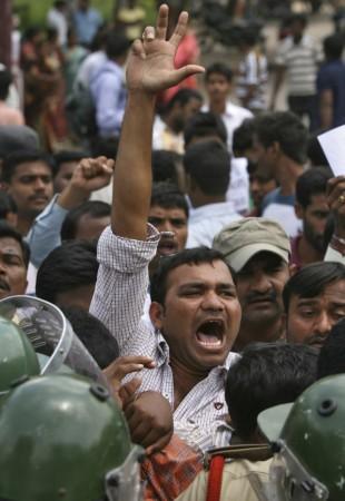 Telangana Strike