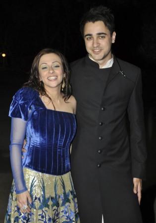Imran Khan with wife Avantika Malik