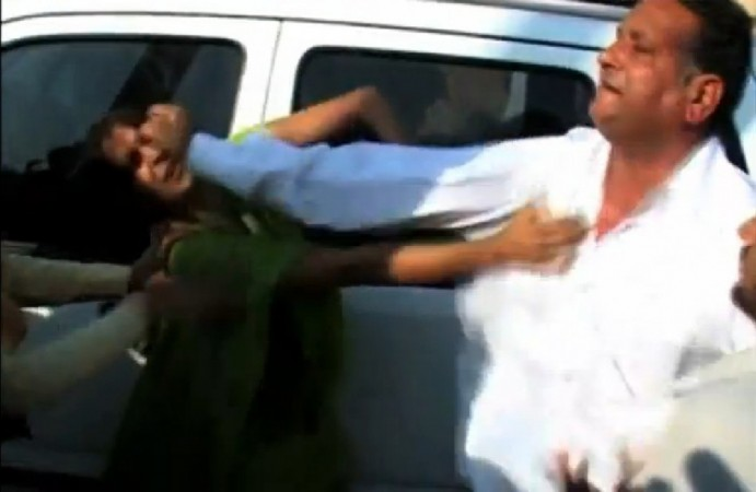 Sarpanch Who Slapped Woman Gets Bail