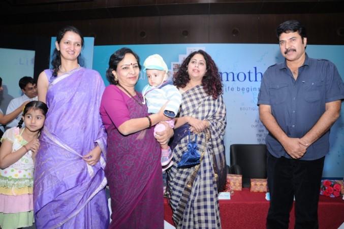 Dr. Kamini Rao, Mrs. Anitha Nayar & Mammootty