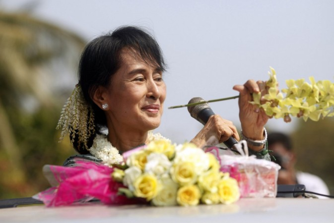 Aung San Suu Kyi once lived in the UK, but has not visited Europe in 24 years until now.