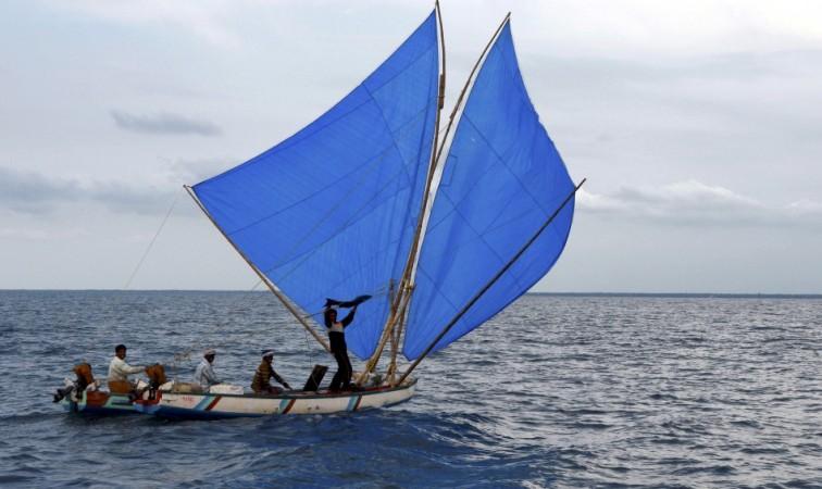 A representational picuture: Fishermen in Kerala, India