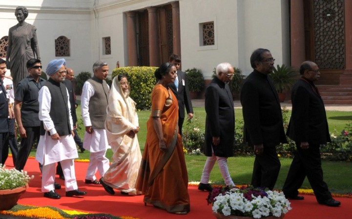 Pratibha Patil/Parliament House/Budget Session