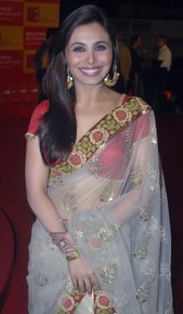 Bollywood actress Rani Mukherjee poses for a picture in Mumbai (Credit: Reuters)