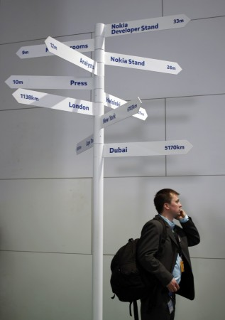 Nokia to provide directions on the basis of real time traffic updates.