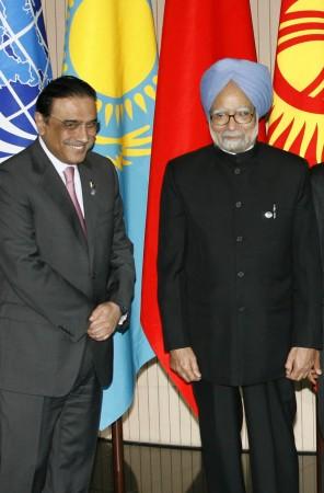 Asif Ali Zardari, Manmohan Singh